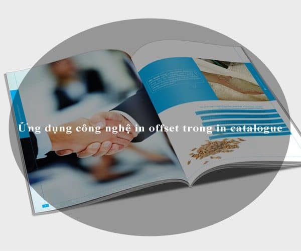 Ứng dụng công nghệ in offset trong in catalogue 1