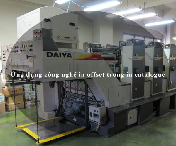 Ứng dụng công nghệ in offset trong in catalogue 2
