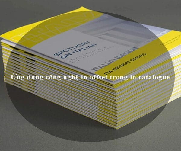 Ứng dụng công nghệ in offset trong in catalogue 4